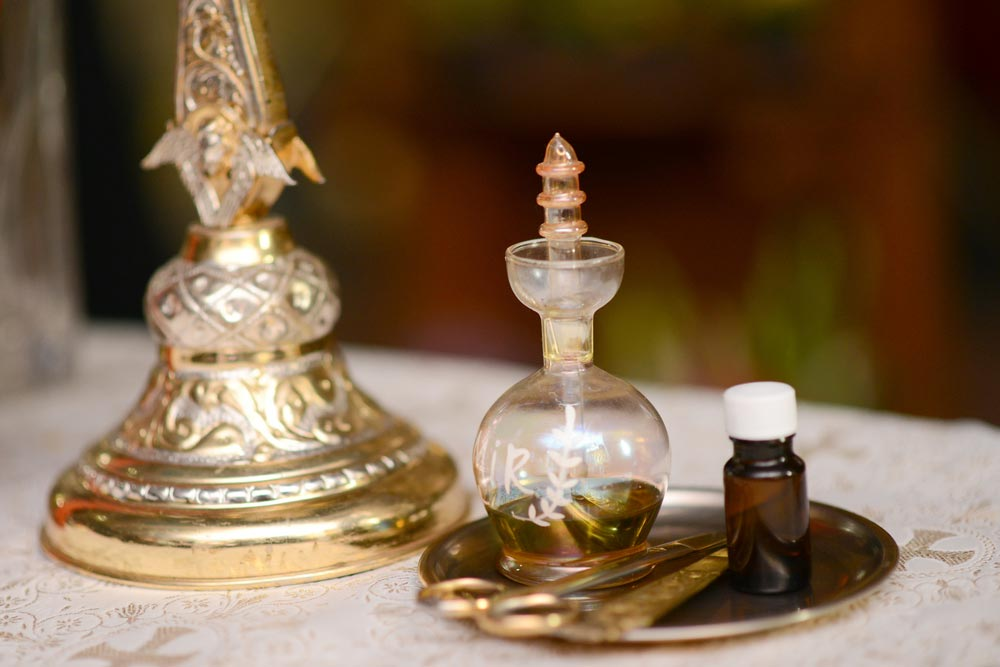 Herbs In The Holy Anointing Oil