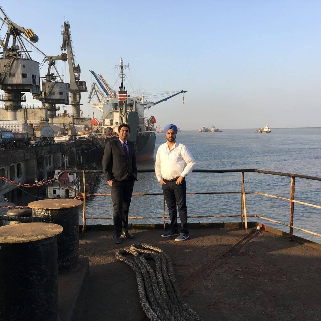 Ocean logistics – A Freight Booking Startup